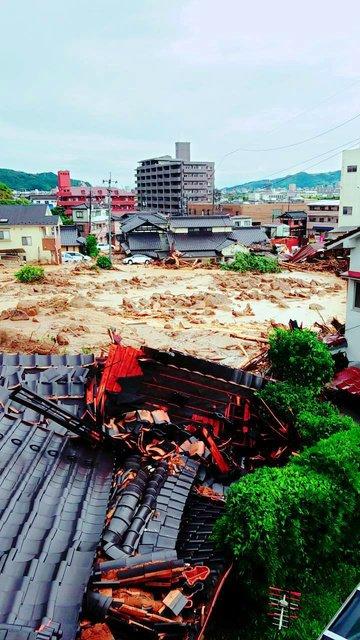 住宅地の裏山崩落、女性不明 (朝日新聞デジタル) - au ...